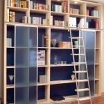 Heim und Haus, Bücherregal mit Leiter Schreinerei München Haar