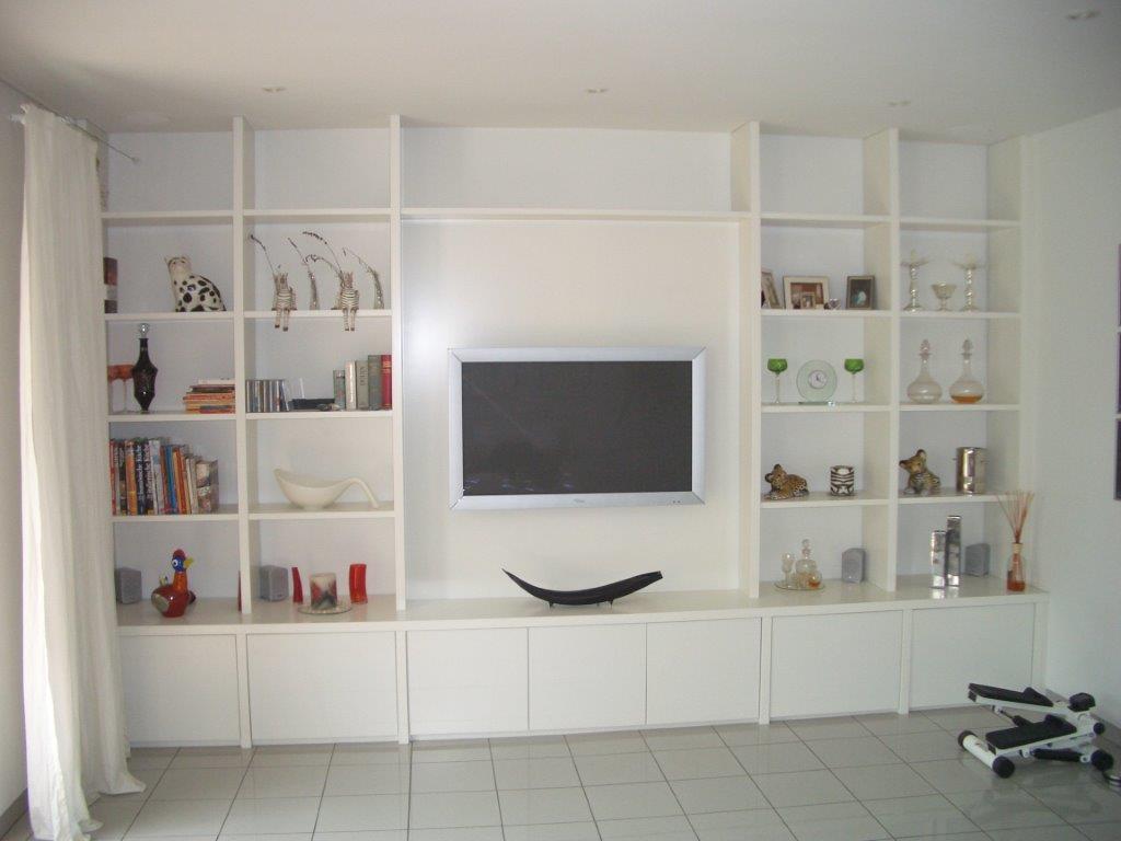 Wohnzimmerregal, TV Regal, München-Haar,Individuelle Möbel, Einbauregal.